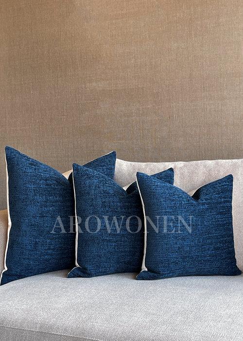 Decorative Cushion - Augustine - Deep Ocean
