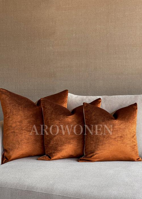 Decorative Cushion - Lavish - Copper