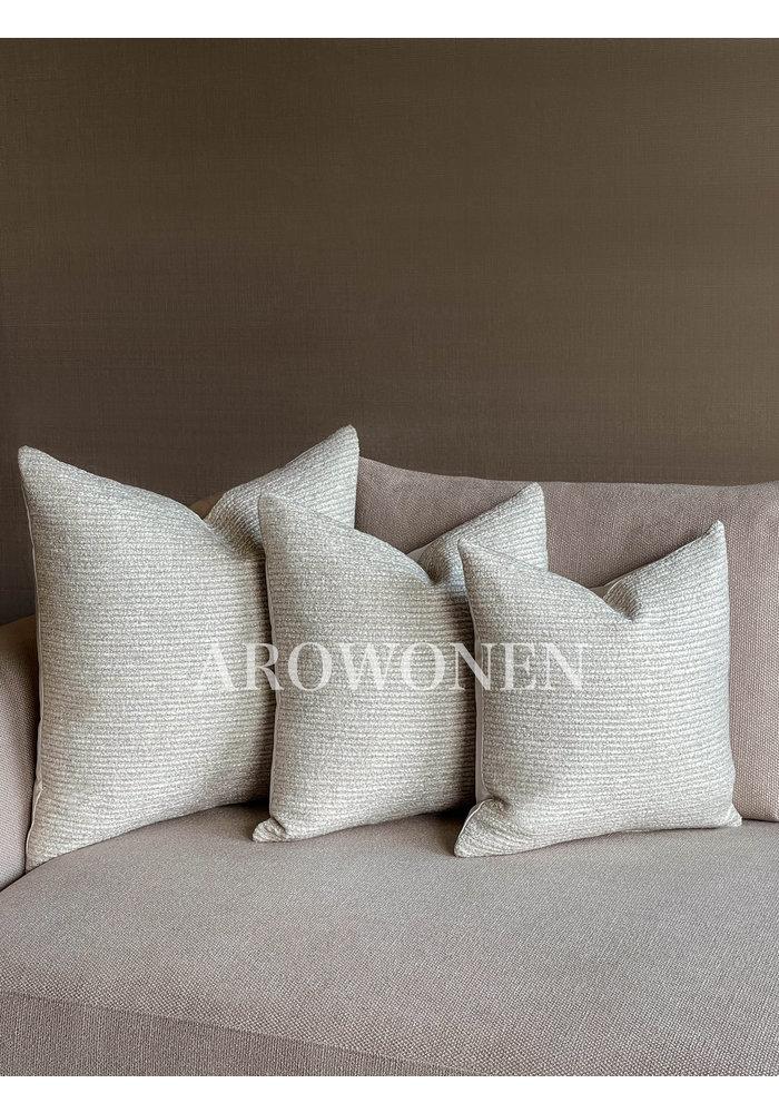 Decorative Cushion - Cornelius - Almond White