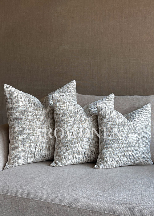 Decorative Cushion - Eugina - Tortilla