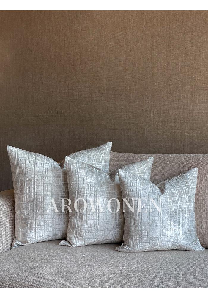 Decorative Cushion - Drago - Oyster White