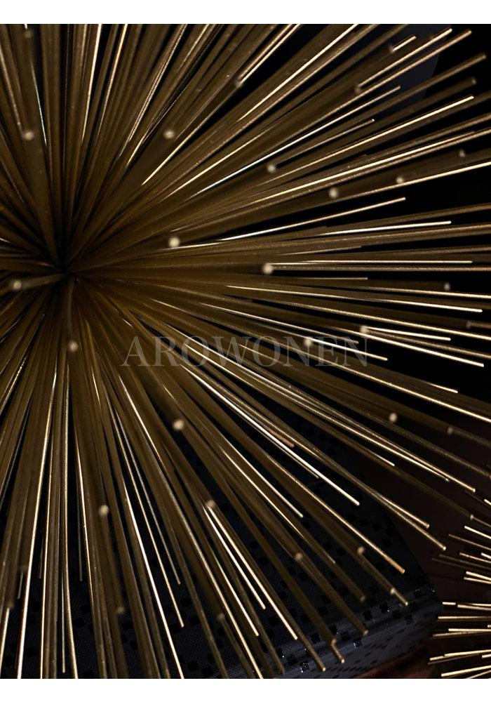 Object - Static Spike - Gold - Ø26 cm