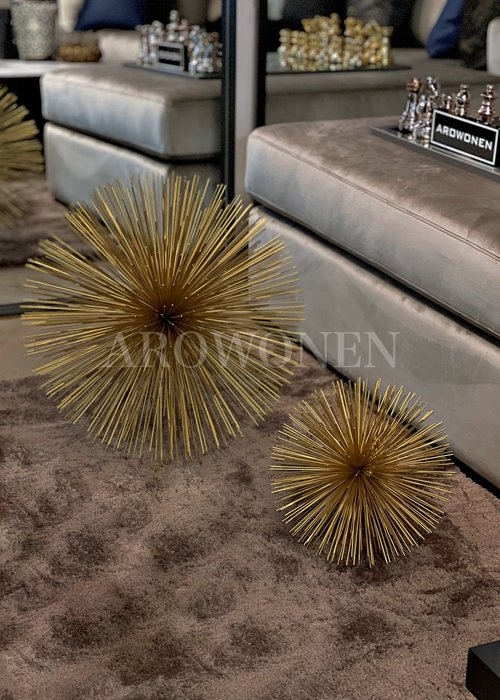 Object - Static Spike - Gold - Ø45cm
