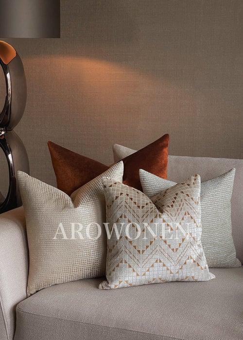 Decorative Cushions Set - Saffron