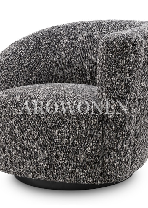 Swivel Chair - Giovanni - Black
