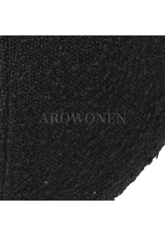 Decorative cushion  - Cookie Black