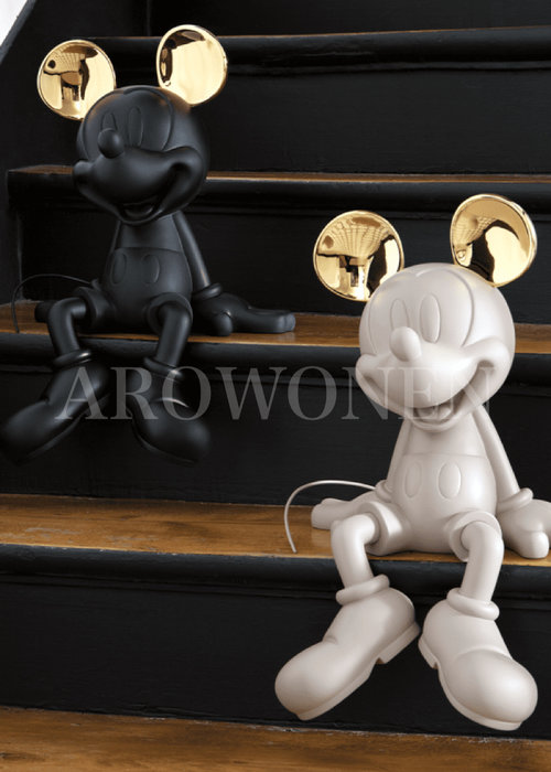 Mickey Sitting