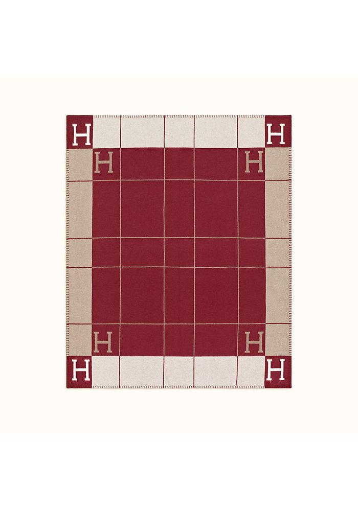 Plaid - Ecru/Red