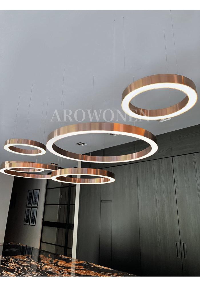 Circle Lamp - Brass