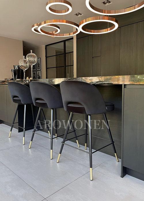 Bar stool - Camila Black