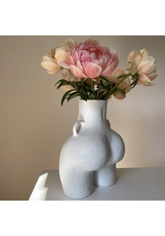 Anissa Kermiche - Vase Love Handles - Light Grey