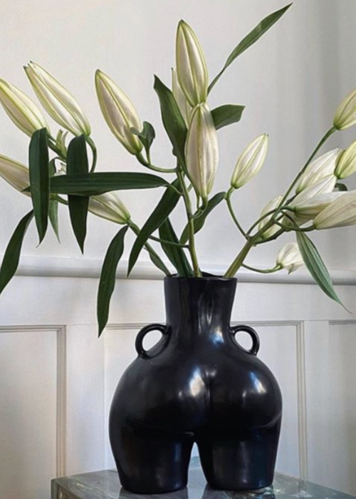 ANISSA KERMICHE Anissa Kermiche - Vase Love Handles - Matte Black