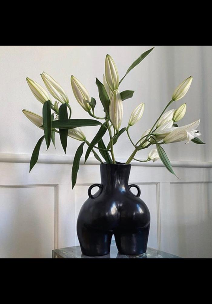 Anissa Kermiche - Vase Love Handles - Matte Black
