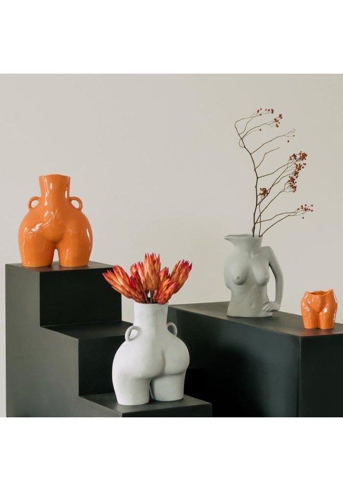 Anissa Kermiche - Vase Love Handles - Shiny Orange