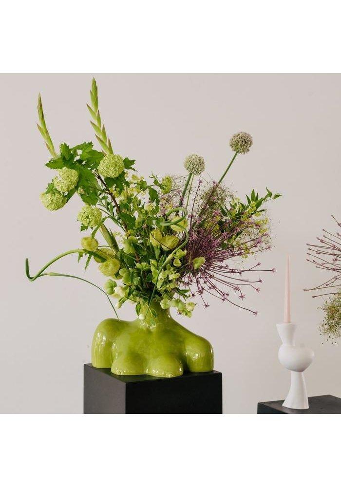 Anissa Kermiche - Vase Breast Friend - Shiny Olive