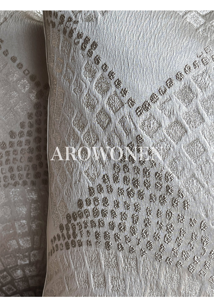 Decorative Cushion - Xena - Silver