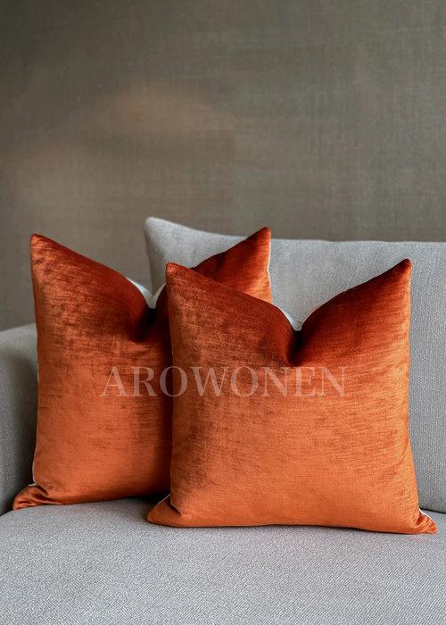 Decorative Cushion - Lavish - Burnt Orange