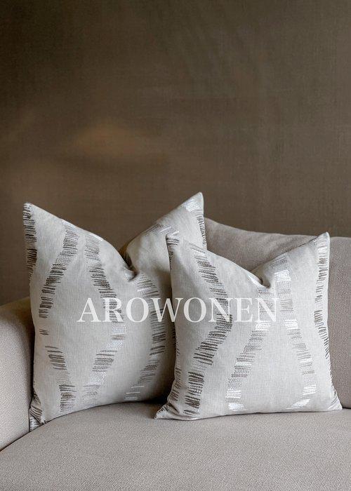 Decorative Cushion - Lin - Beige
