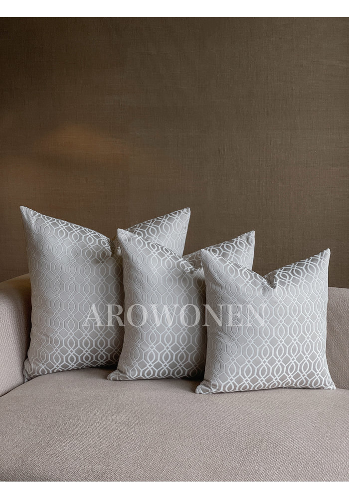Decorative Cushion - Everly - Warm Grey