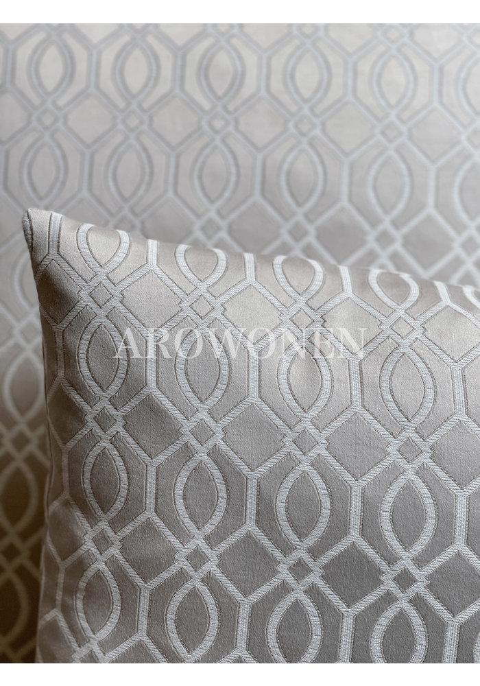 Sierkussen - Everly - Warm Grey