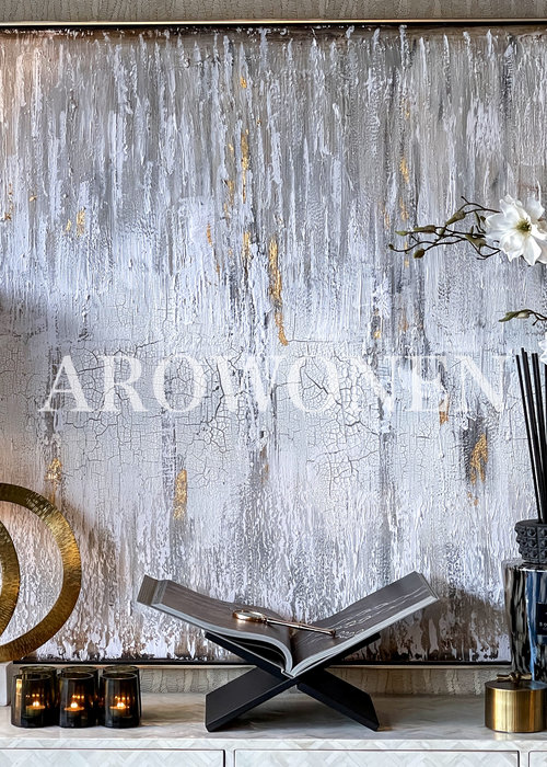Art Canvas - Layers - Gold/White