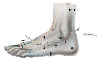 Fußakupunktur