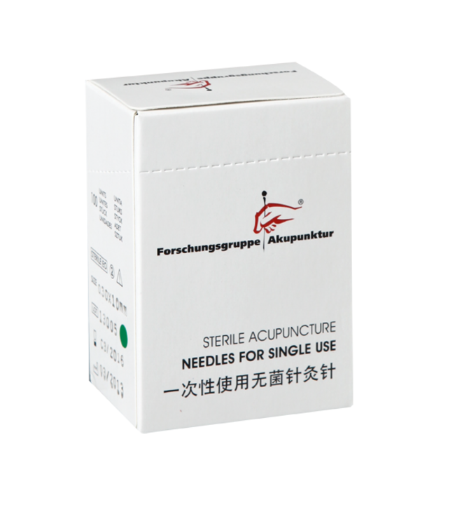 Forschungsgruppe Akupunktur 0,30x10mm Akupunkturnadel