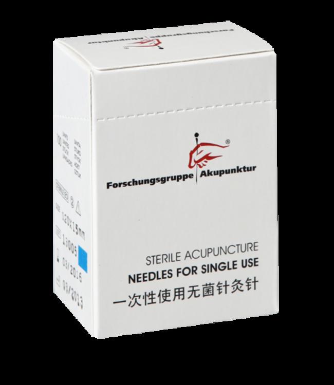 Forschungsgruppe Akupunktur 0,20x15mm Akupunkturnadel Plastikgriff