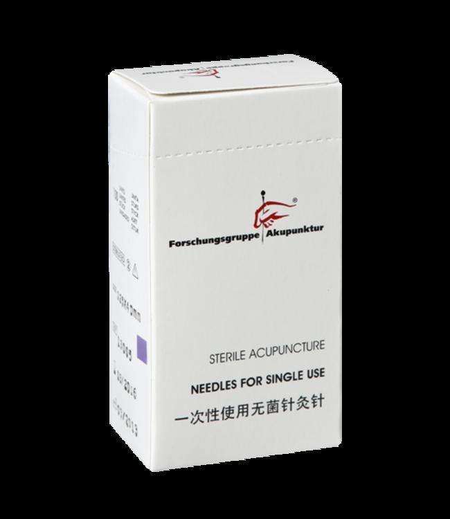 Forschungsgruppe Akupunktur 0,25x40mm Akupunkturnadel Plastikgriff