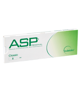 Sedatelec Sedatelec ASP Dauernadel (Ohrakupunktur) Schachtel à 8 Nadeln