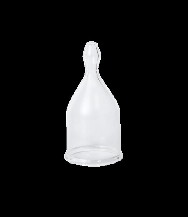 Schröpfglas mit Ball 3 cm