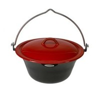 Bon fire Pan met deksel 6/8/15 liter