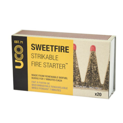 UCO Gear Sweetfire Tinder Match Points