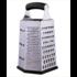 Cookspoint CookSpoint Blokrasp CP-013, 5-zijdig RVS/zwart