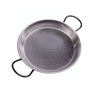 Vaello Paellapan laag 24cm grijs
