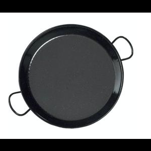 Vaello Paellapan Laag, 36cm zwart