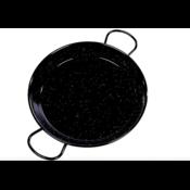 Vaello Paellapan Laag, 24cm zwart