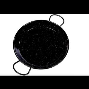 Vaello Paellapan Laag, 28cm zwart