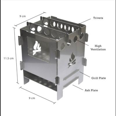 Bushbox Pocket stove
