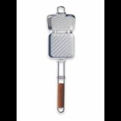 Charcoal Companion Aluminium tosti-ijzer