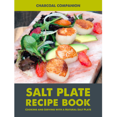 Charcoal Companion Salt Plate Recipe Book CC6057