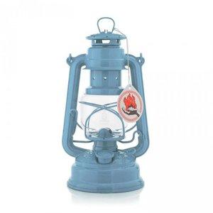 FEUERHAND stormlamp 276 pastel blauw