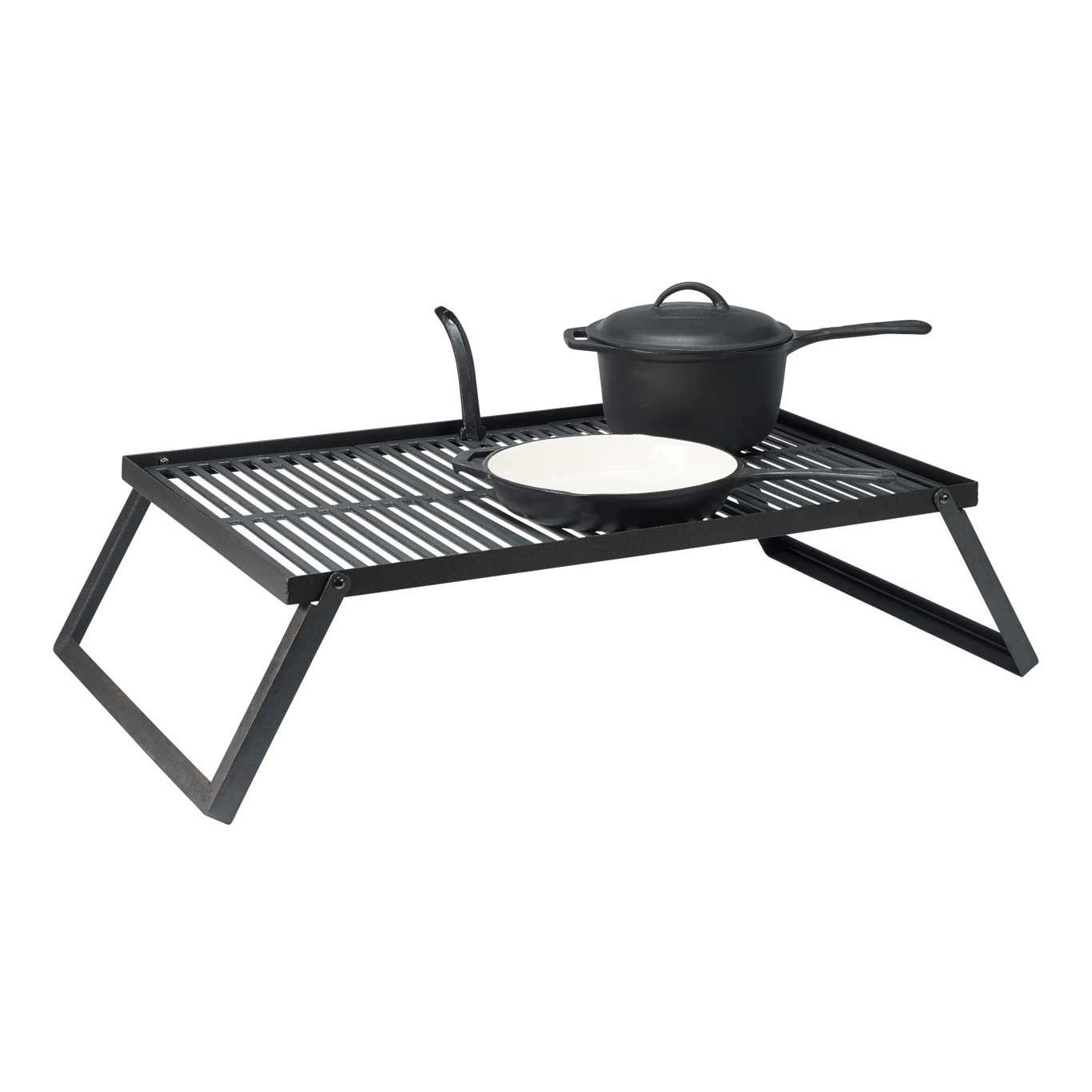 Grill rooster & platen