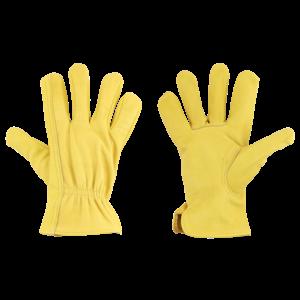 Esschert Design  Runderleren handschoenen M