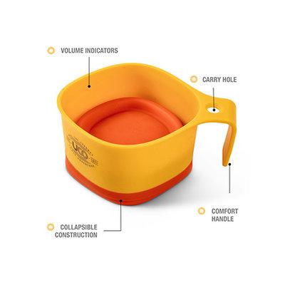 UCO Gear Mok set van 2 geel-grijs - Copy