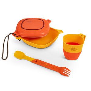 UCO Gear Lunch kit geel oranje