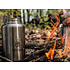 Pathfinder RVS Drinkfles 1 L + Drinkbeker 0,75 L met deksel