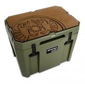 Petromax  Koelbox beschermer bruin met dragon embleem kx25