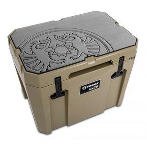 Petromax  Koelbox beschermer bruin met Dragon logo KX25