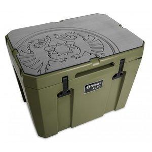 Petromax  Koelbox beschermer Grijs met Dragon logo KX50